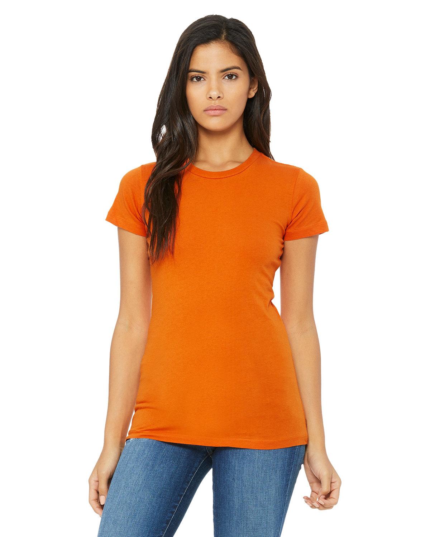Bella + Canvas Ladies' Slim Fit T-Shirt ORANGE