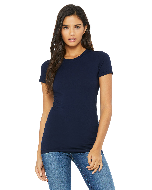 Bella + Canvas Ladies' Slim Fit T-Shirt NAVY