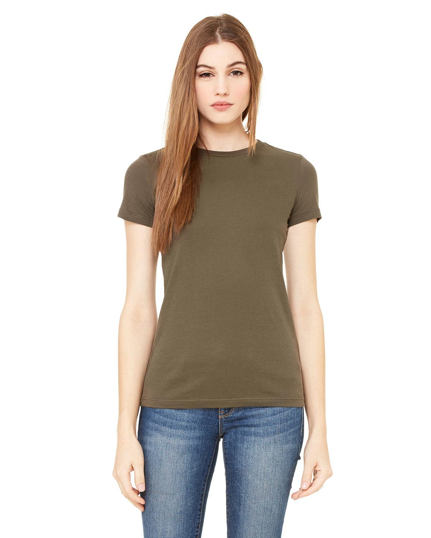 Bella + Canvas Ladies' Slim Fit T-Shirt ARMY
