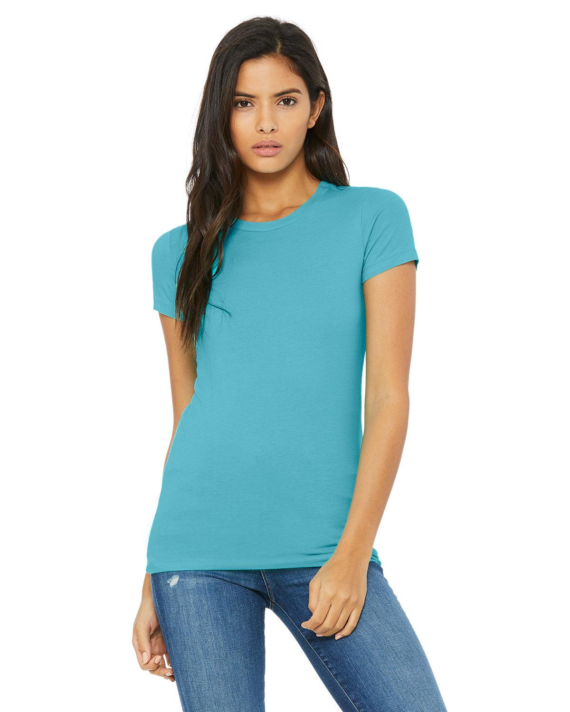 Bella + Canvas Ladies' Slim Fit T-Shirt TURQUOISE