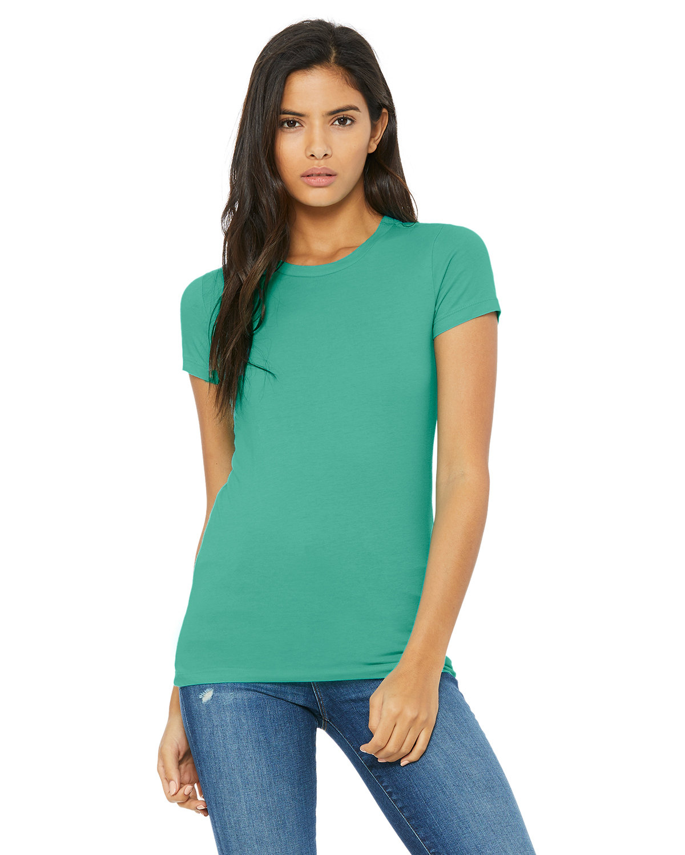 Bella + Canvas Ladies' Slim Fit T-Shirt TEAL