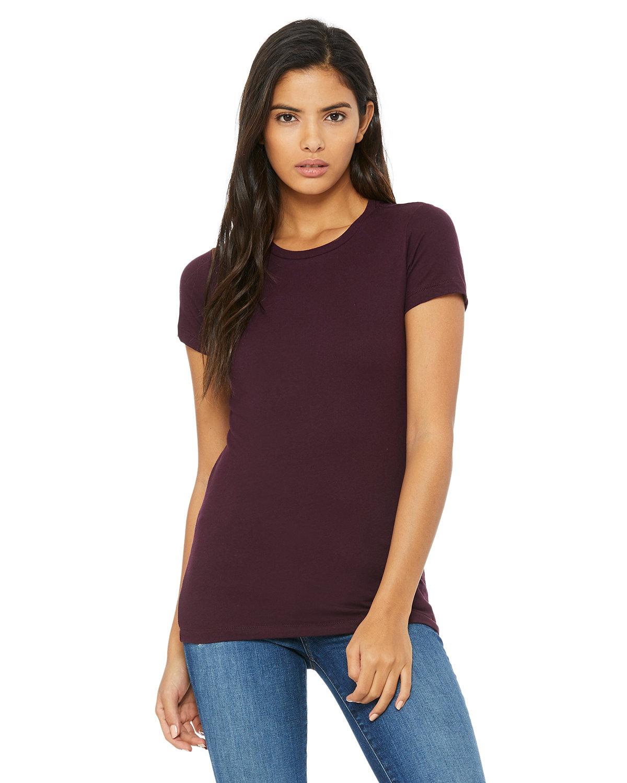 Bella + Canvas Ladies' Slim Fit T-Shirt PLUM