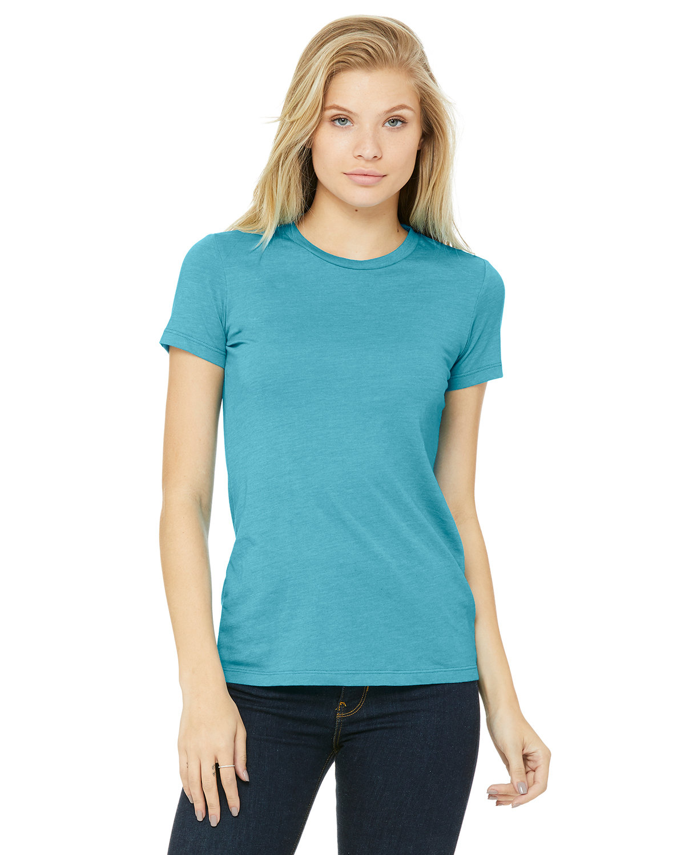 Bella + Canvas Ladies' Slim Fit T-Shirt HEATHER AQUA
