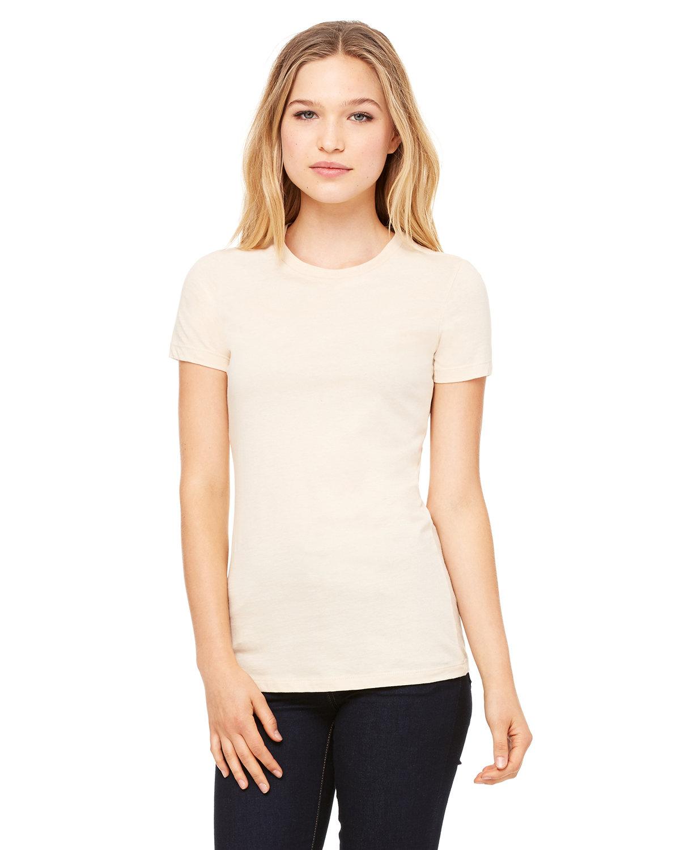 Bella + Canvas Ladies' Slim Fit T-Shirt SOFT CREAM
