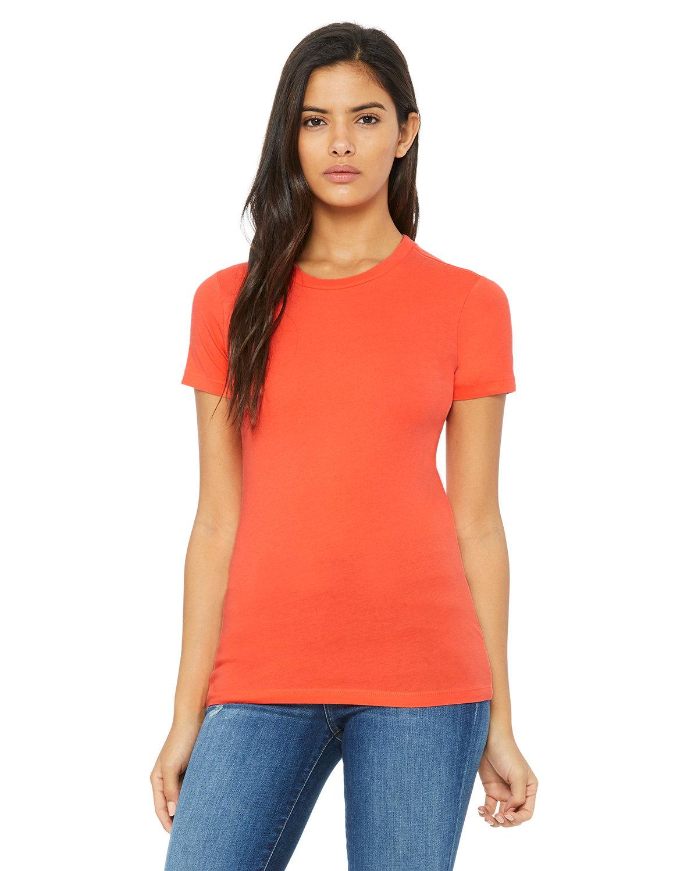 Bella + Canvas Ladies' Slim Fit T-Shirt CORAL