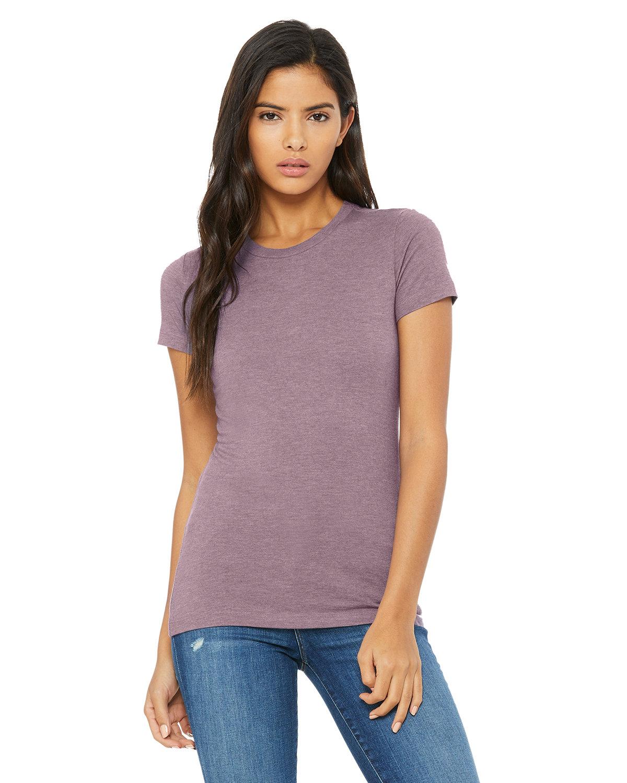 Bella + Canvas Ladies' Slim Fit T-Shirt HEATHER PURPLE