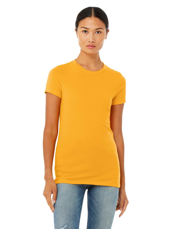 Bella + Canvas Ladies' Slim Fit T-Shirt GOLD