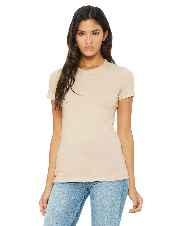 Bella + Canvas Ladies' Slim Fit T-Shirt TAN