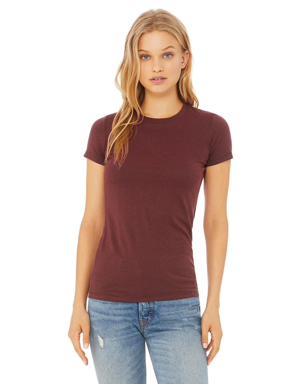 Bella + Canvas Ladies' Slim Fit T-Shirt HEATHER CARDINAL