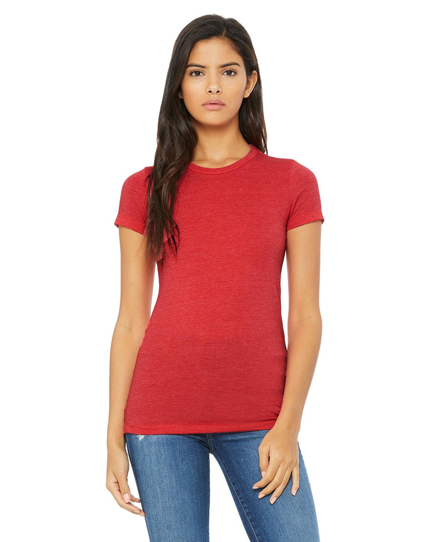 Bella + Canvas Ladies' Slim Fit T-Shirt HEATHER RED