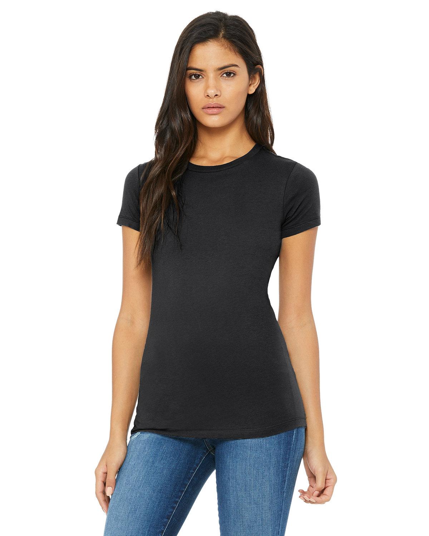 Bella + Canvas Ladies' Slim Fit T-Shirt DARK GREY