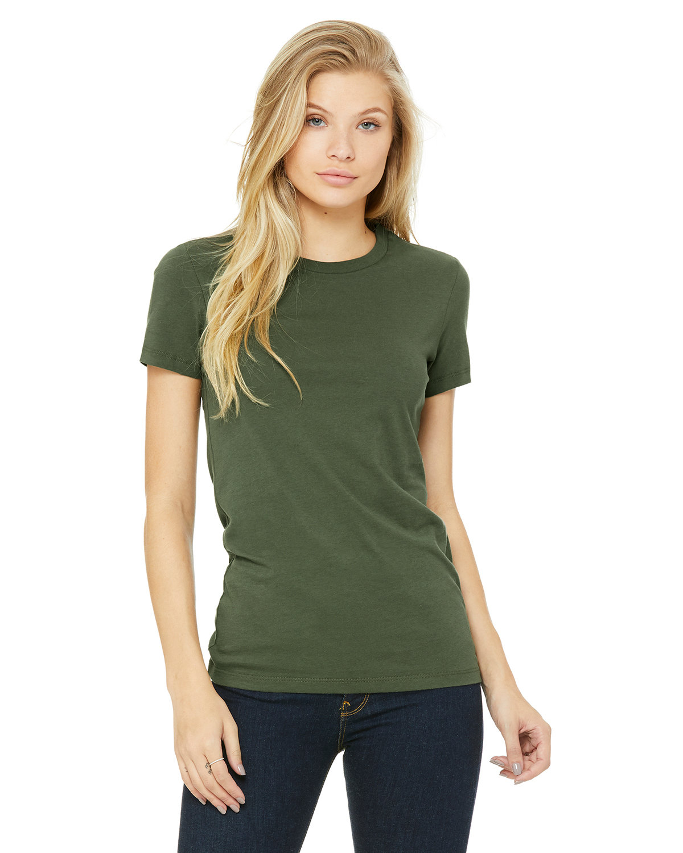 Bella + Canvas Ladies' Slim Fit T-Shirt MILITARY GREEN