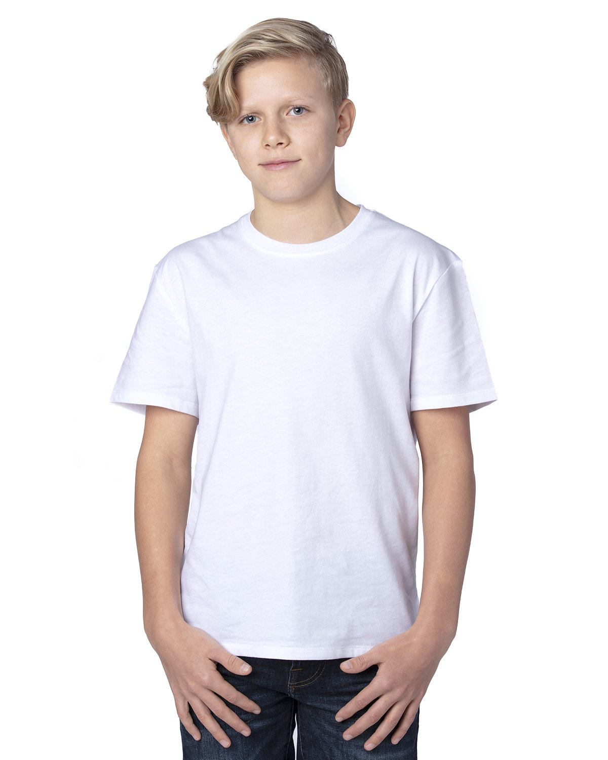 Threadfast Apparel Youth Ultimate T-Shirt WHITE