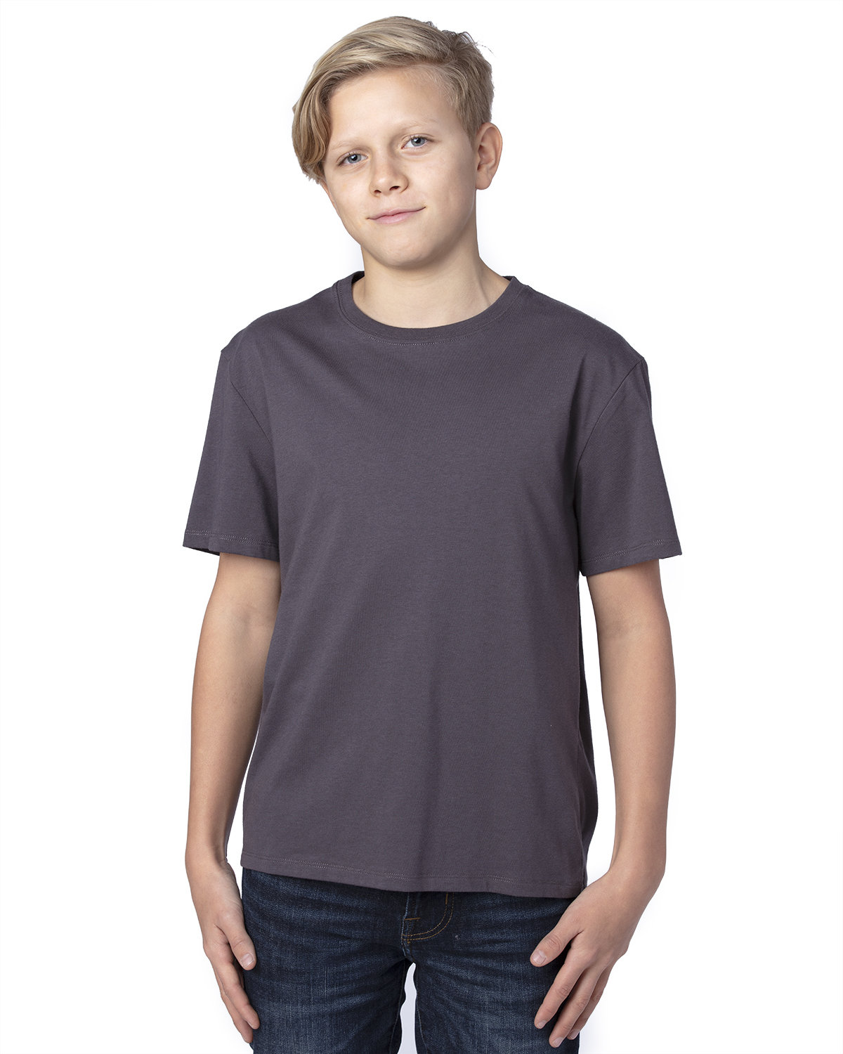 Threadfast Apparel Youth Ultimate T-Shirt GRAPHITE
