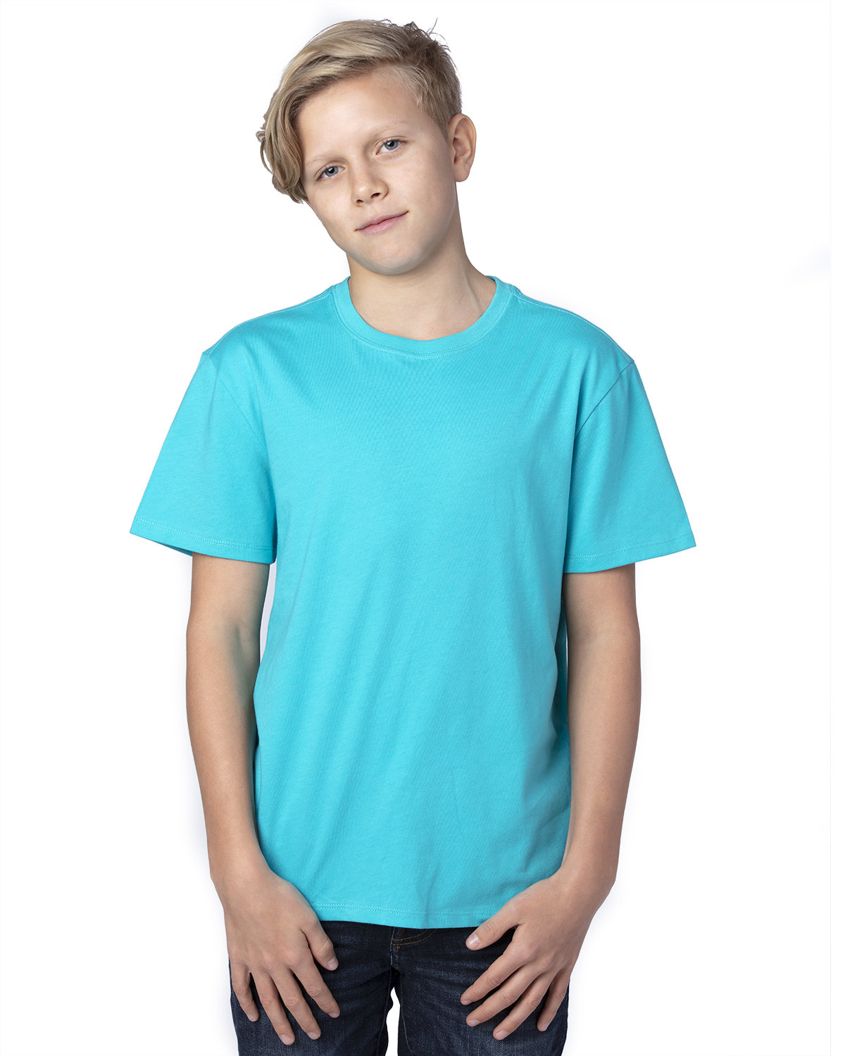 Threadfast Apparel Youth Ultimate T-Shirt PACIFIC BLUE