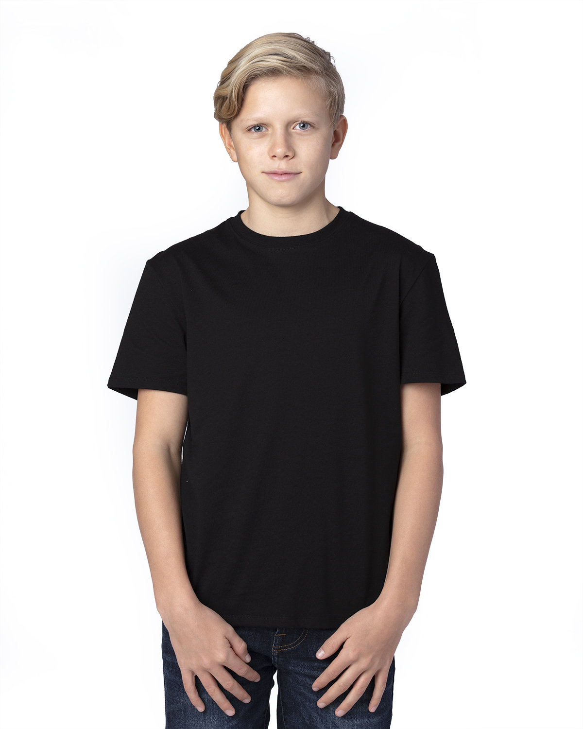 Threadfast Apparel Youth Ultimate T-Shirt BLACK