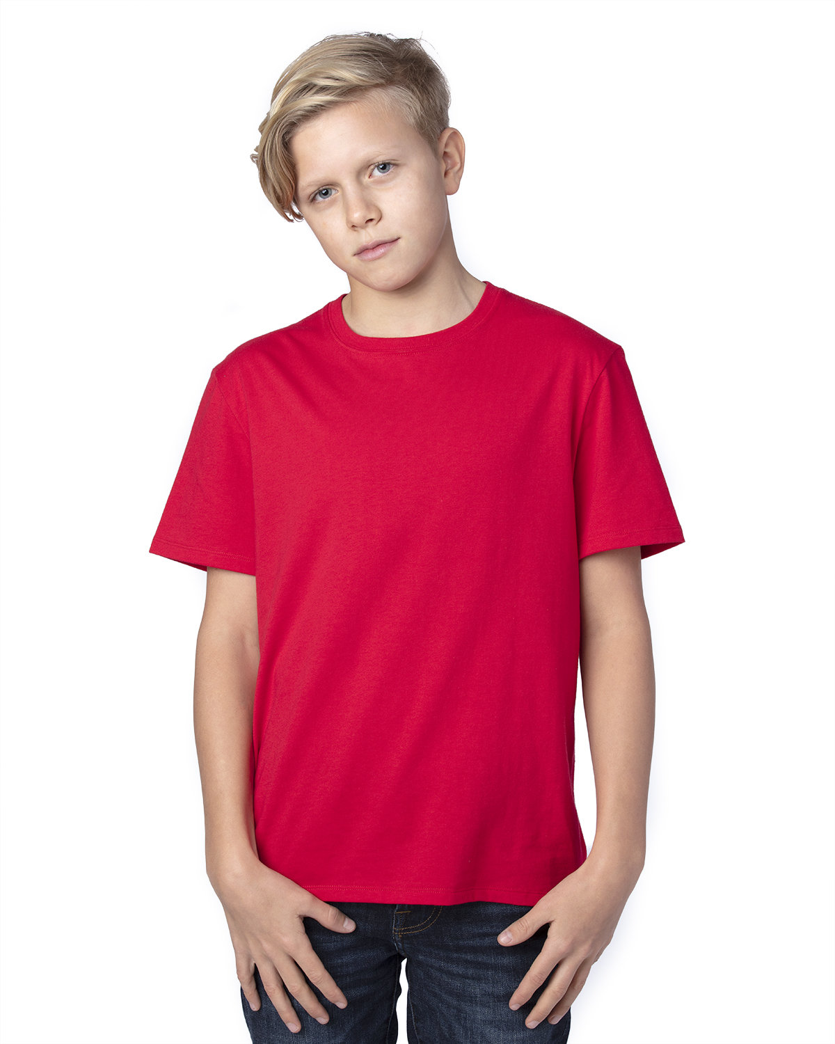 Threadfast Apparel Youth Ultimate T-Shirt RED