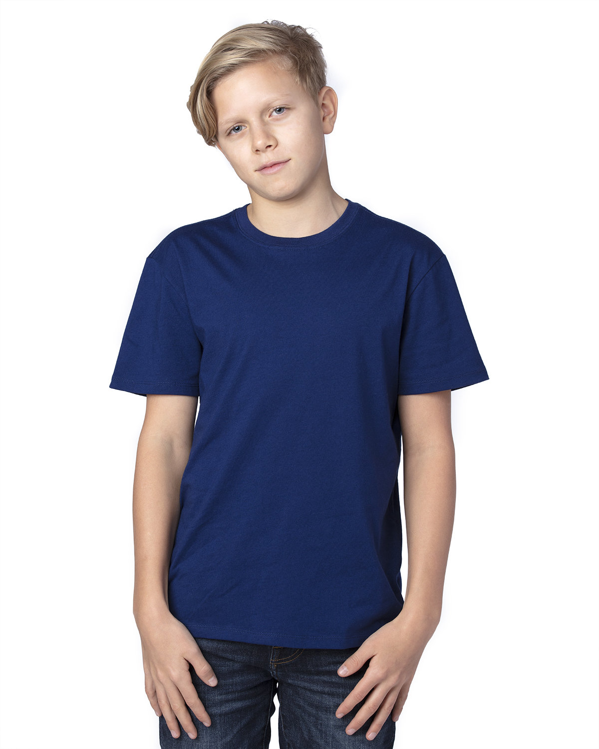 Threadfast Apparel Youth Ultimate T-Shirt NAVY