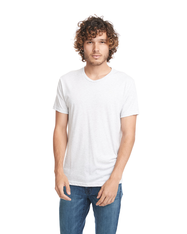 Next Level Unisex Triblend T-Shirt HEATHER WHITE