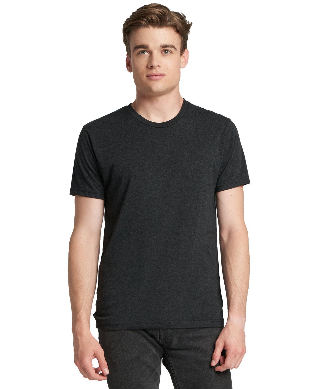 Next Level Men's Made in USA Triblend T-Shirt VINTAGE BLACK