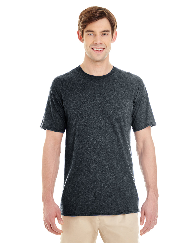 Jerzees Adult TRI-BLEND T-Shirt BLACK HEATHER