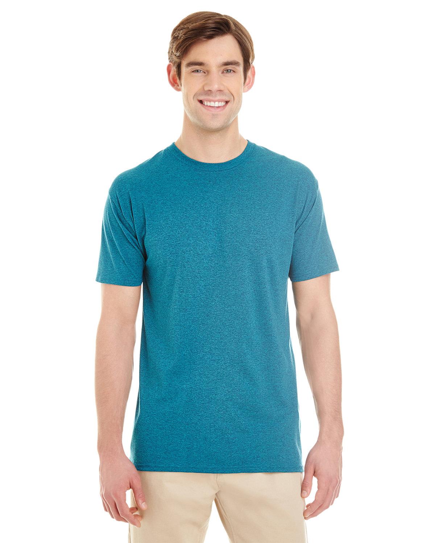Jerzees Adult TRI-BLEND T-Shirt MOSAIC BLUE HTHR