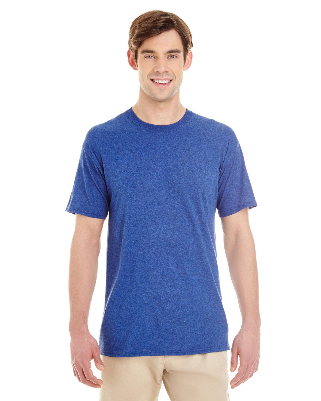 Jerzees Adult TRI-BLEND T-Shirt TRUE BLUE HEATHR