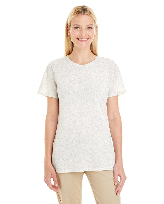 Jerzees Ladies' TRI-BLEND T-Shirt OATMEAL FLECK