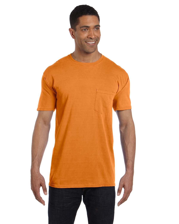 Comfort Colors Adult Heavyweight Pocket T-Shirt BURNT ORANGE