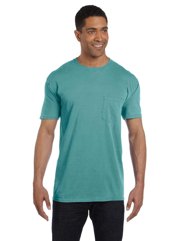 Comfort Colors Adult Heavyweight Pocket T-Shirt SEAFOAM