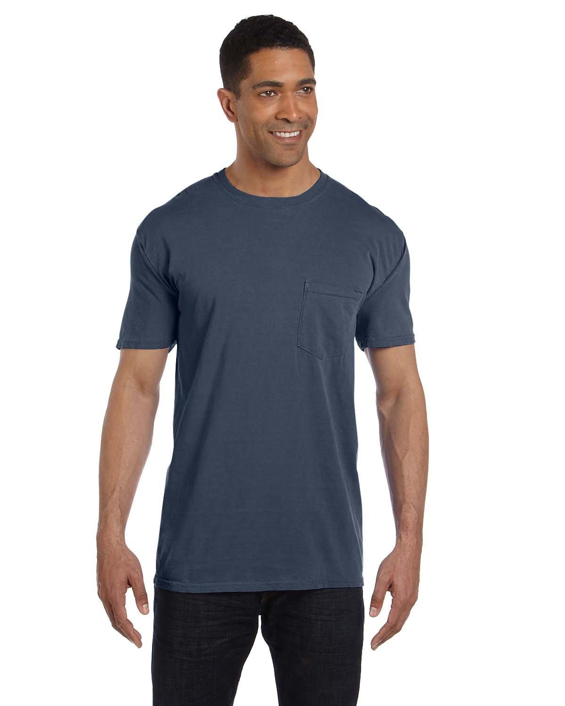 Comfort Colors Adult Heavyweight Pocket T-Shirt DENIM