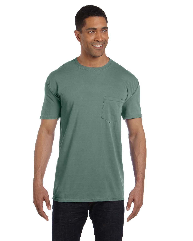 Comfort Colors Adult Heavyweight Pocket T-Shirt LIGHT GREEN