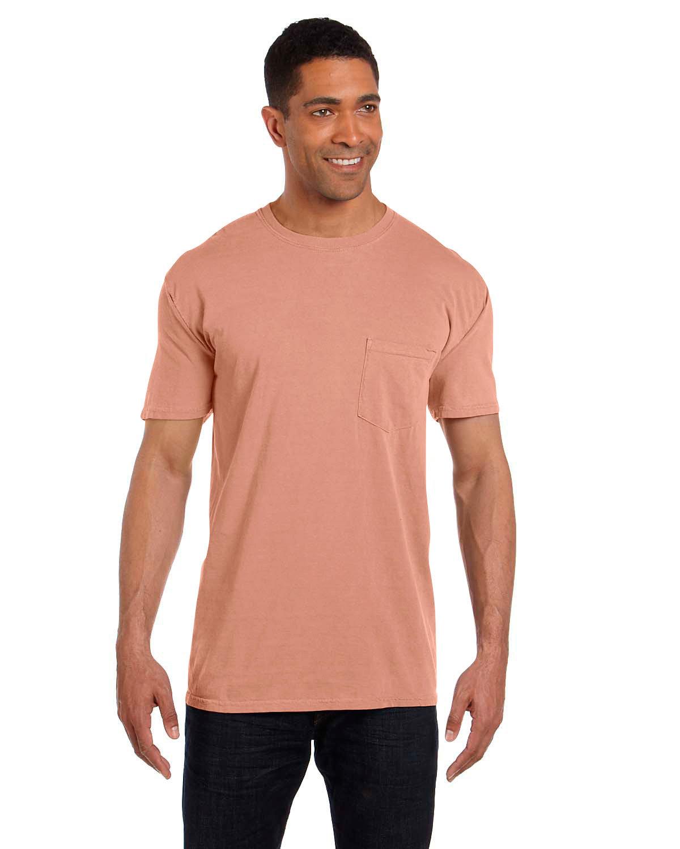 Comfort Colors Adult Heavyweight Pocket T-Shirt TERRACOTA