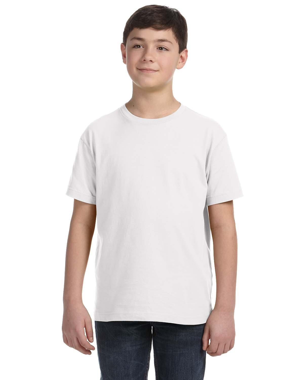LAT Youth Fine Jersey T-Shirt WHITE