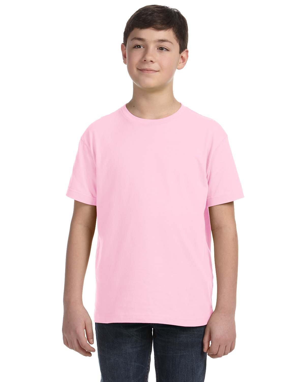 LAT Youth Fine Jersey T-Shirt PINK