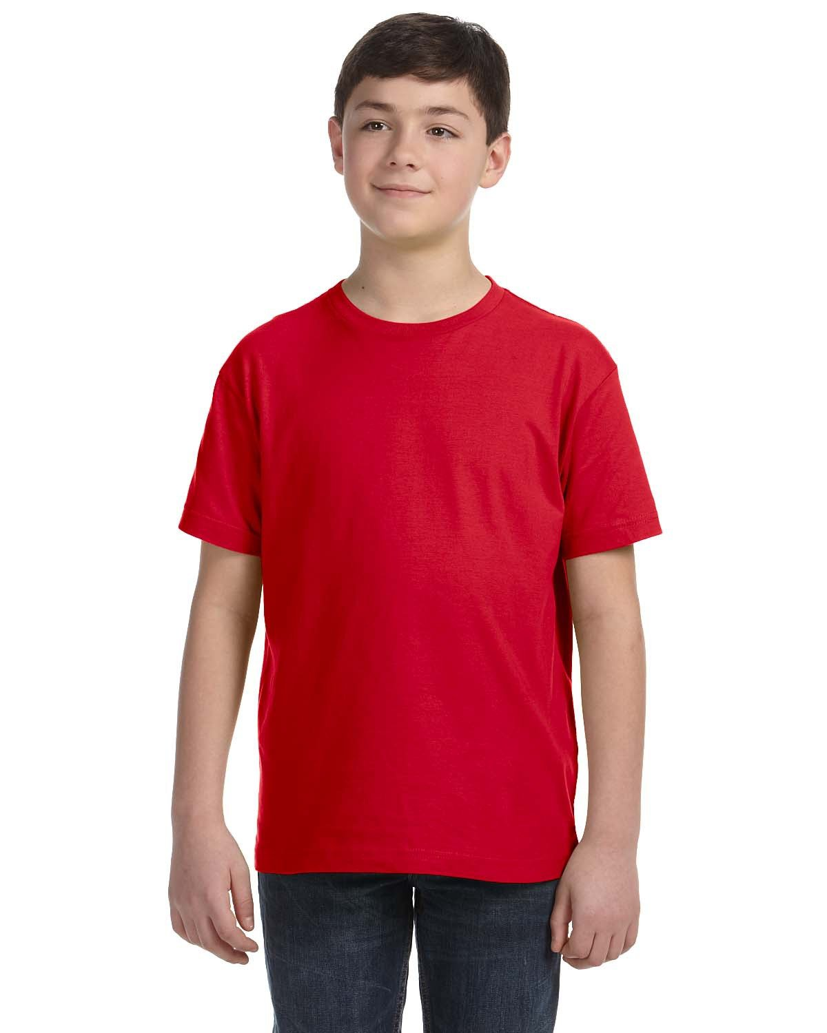 LAT Youth Fine Jersey T-Shirt RED