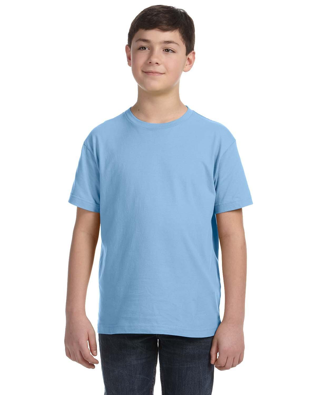 LAT Youth Fine Jersey T-Shirt LIGHT BLUE