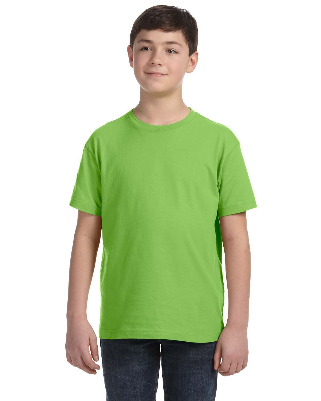 LAT Youth Fine Jersey T-Shirt KEY LIME