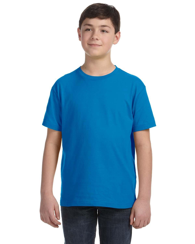 LAT Youth Fine Jersey T-Shirt COBALT