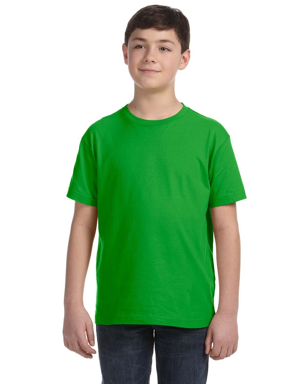 LAT Youth Fine Jersey T-Shirt APPLE