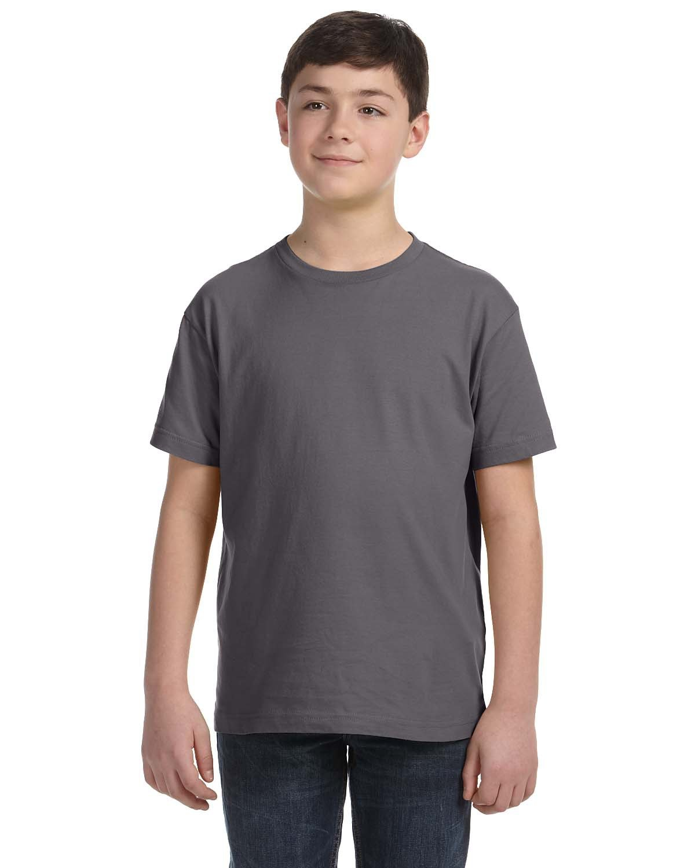 LAT Youth Fine Jersey T-Shirt CHARCOAL
