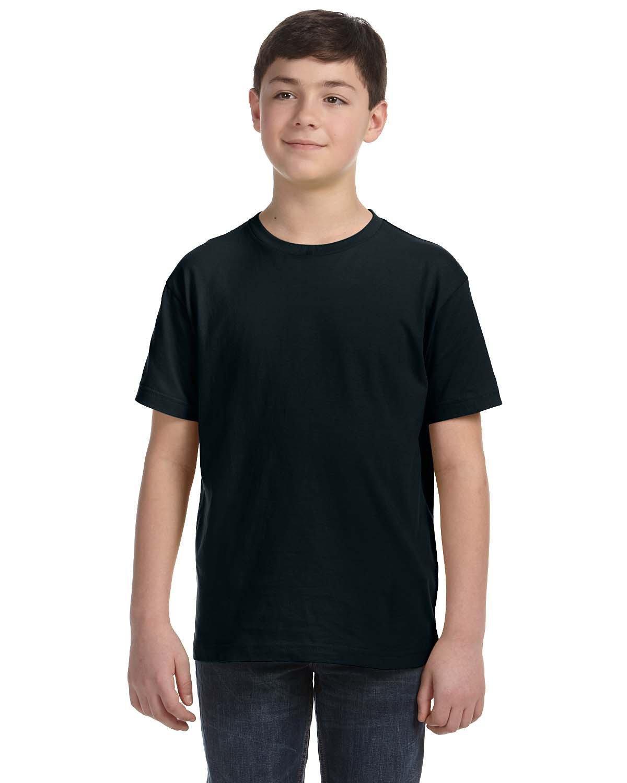 LAT Youth Fine Jersey T-Shirt BLACK