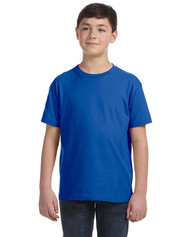 LAT Youth Fine Jersey T-Shirt ROYAL