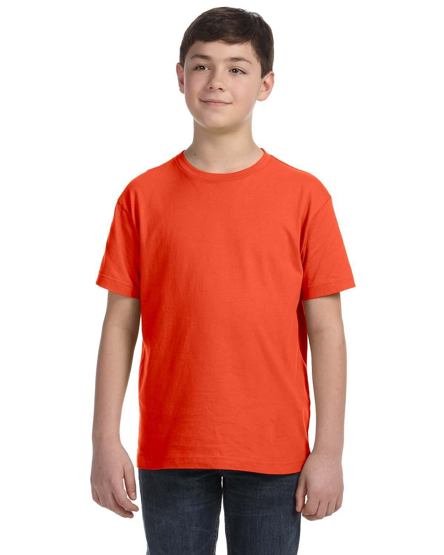 LAT Youth Fine Jersey T-Shirt ORANGE
