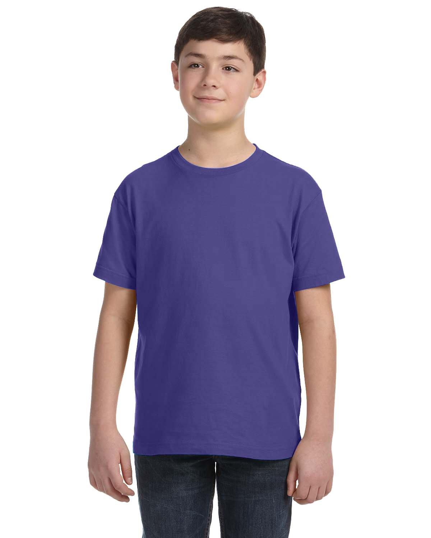 LAT Youth Fine Jersey T-Shirt PURPLE
