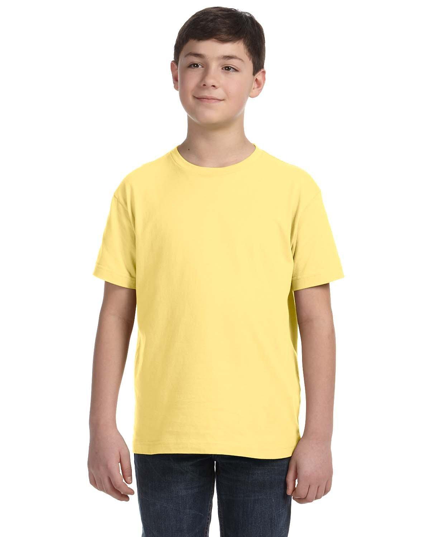 LAT Youth Fine Jersey T-Shirt BUTTER
