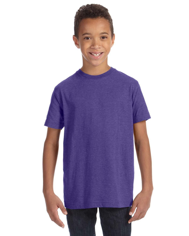 LAT Youth Fine Jersey T-Shirt VINTAGE PURPLE