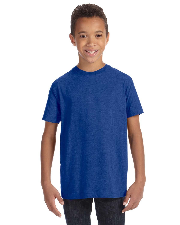 LAT Youth Fine Jersey T-Shirt VINTAGE ROYAL