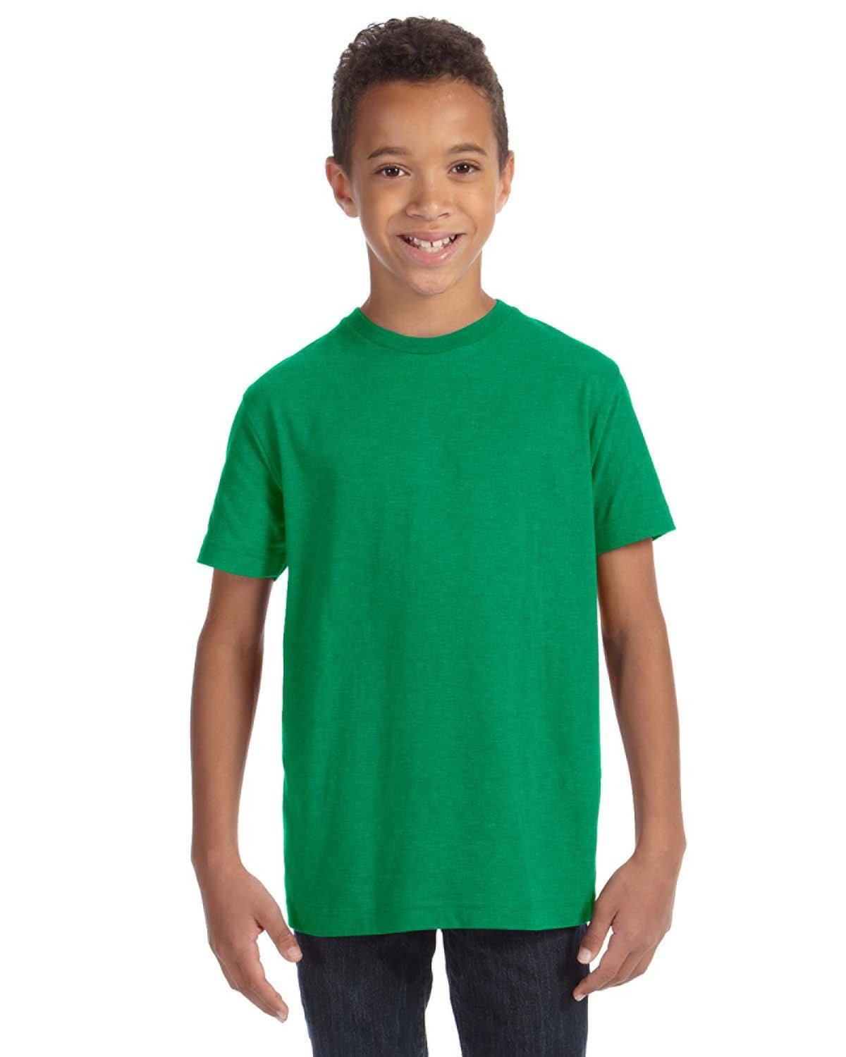 LAT Youth Fine Jersey T-Shirt VINTAGE GREEN