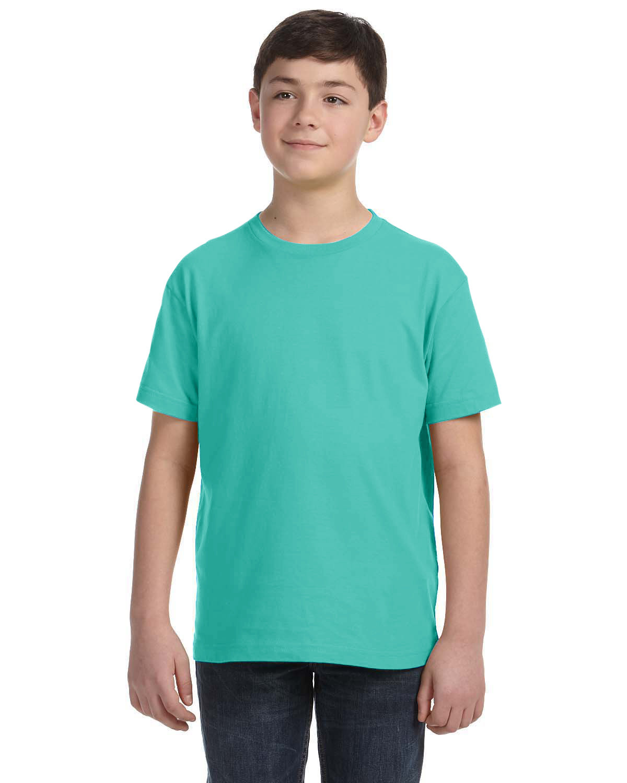 LAT Youth Fine Jersey T-Shirt CARIBBEAN